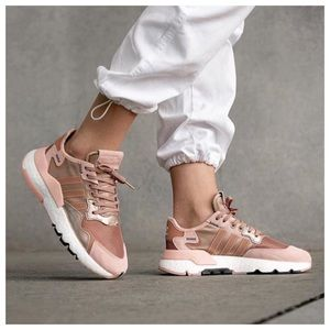 🆕 Adidas Nite Jogger UltraBoost Rose Gold Shoes